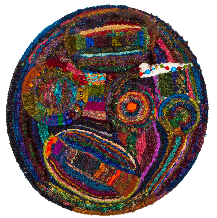 Imaging-Time-36-inch-hoop-weaving-art-Bill-Holloway