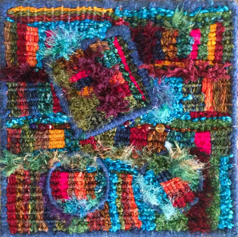 Artist-Bill-Holloway-Fiber-Hoop-Weaving-Art